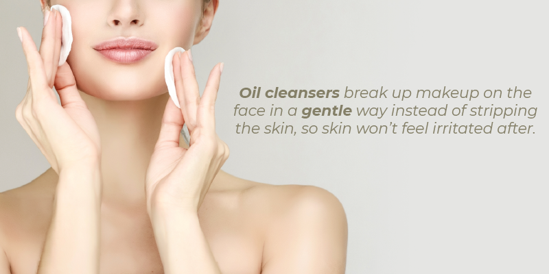 "oils ""put a sealant on your skin by coating the top layer."" If you load up on humectants first, using the oil after will help to keep the moisture from escaping."